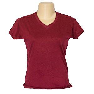 Camiseta baby look em algodão