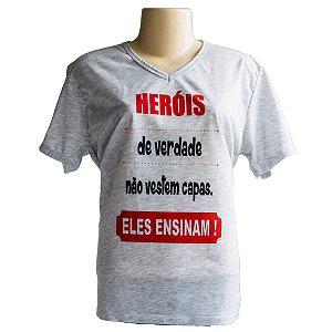Camiseta T-shirt Professor Heroi