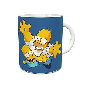 Caneca dia dos Pais Simpsons