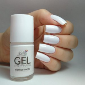 Bella Brazil gel 9ml - Cor BRANCO TOTAL