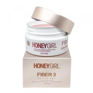 Gel Honey Girl FIBER 3 30g - Pink