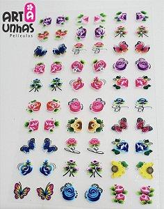 PELICULA DE UNHA 3D MODELO - 09