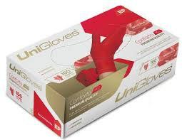 Luvas Unigloves RED - Tamanho PP