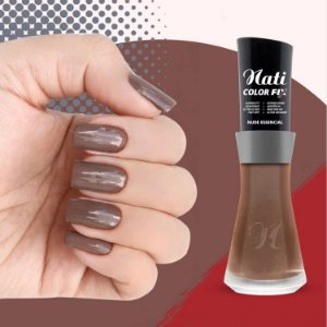 Nati Color Fix 8ml - Cor NUDE ESSENCIAL