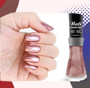 Nati Color Fix 8ml - Cor ROSE GOLD