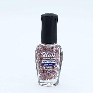 Nati 8ml - Cor GLITTER ROSA