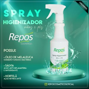 SPRAY HIGIENIZADOR  REPOS - 480ML