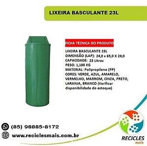 LIXEIRA BASCULANTE 23L