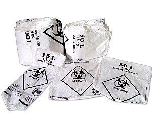 Saco de Lixo Infectante 30 Litros pct c/100 - Talge