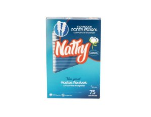 Hastes Flexiveis - cx c/75 cotonetes - Naty