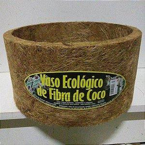 VASO ECOLÓGICO FIBRA DE COCO 260MM X130MM