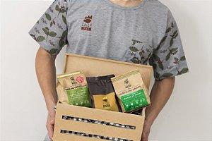 Kit Degustação Gourmet – 03 (três) cafés 250 gr de cada das linhas  Edição Limitada + Especial+ Superior