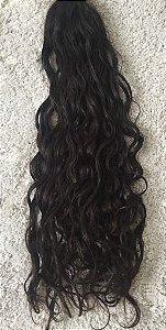 Cabelo natural Preto cacheado – Martha Hair Nº2 –  (Kit com 25g)