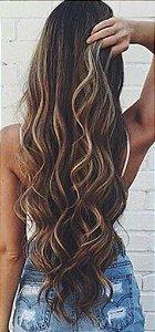 Cabelo natural ondulado – Martha Hair Nº 6 – Loiro escuro (Kit com 25g)