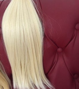 Cabelo Natural Liso – Martha Hair Nº 10 – Loiro Claríssimo (Kit com 25g)