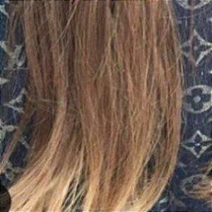 Cabelo loiro médio Martha Hair nº 7, com coloração (kit com 25g)