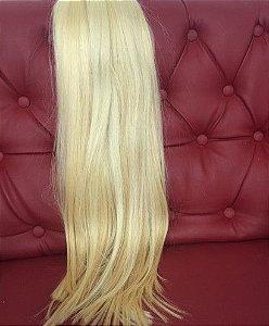 Cabelo loiro super claro Martha Hair nº 11, mesclado, natural, liso, com coloração (kit com 25g)