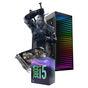 COMPUTADOR GAMER WITCHER, I5-9400F, GEFORCE GTX 1660 6GB, 8GB DDR4, SSD 120GB, HD 1TB, 500W 80 PLUS