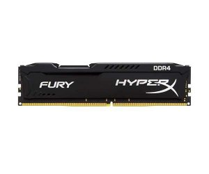 MEMÓRIA KINGSTON HYPERX FURY 8GB 2400MHZ DDR4 CL15 BLACK - HX424C15FB2/8