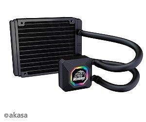 WATERCOOLER AKASA VENOM R10 LED RGB - AK-LC4001HS03