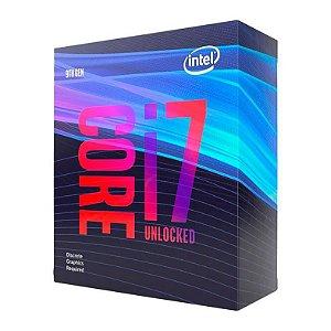 PROCESSADOR INTEL CORE I7-9700KF OCTA-CORE 3.6GHZ (4.9GHZ TURBO) 12MB CACHE LGA1151, BX80684I79700KF