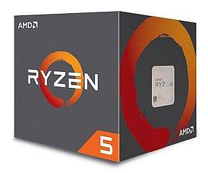 PROCESSADOR AMD RYZEN 5 2600 HEXA-CORE 3.4GHZ (3.9GHZ TURBO) 19MB CACHE AM4, YD2600BBAFBOX