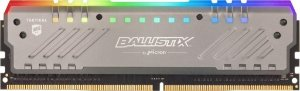 MEMÓRIA CRUCIAL BALLISTIX RGB 8GB 3000MHZ DDR4 CL15 - BLT8G4D30AET4K