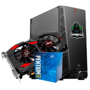 COMPUTADOR GAMER, G5400, GEFORCE GTX 1050 TI 4GB, 8GB DDR4, SSD 240GB, 500W