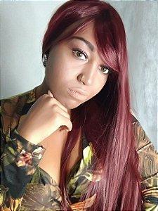 Wig Ana Vermelha