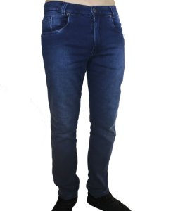 Calça Jeans Azul Estonado Fortman