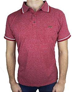 Camisa Polo Vermelha Jacard Fortman