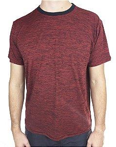 Camiseta Esportiva Vermelha Poliamida Fortman