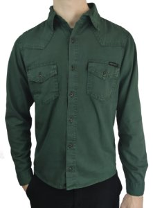 Jaqueta de Sarja Verde Fortman