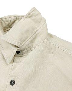 Jaqueta de Sarja Creme Fortman
