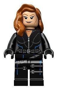 Mini Figura Compatível Lego Viúva Negra Marvel