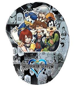 Mouse Pad Ergonômico Kingdom Hearts - Vários Modelos