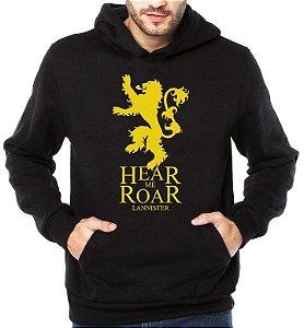 ae84ad227c Moletom Game Of Thrones - Lennister - Hear Me Roar