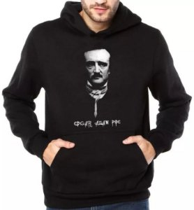 Moletom Edgar Allan Poe