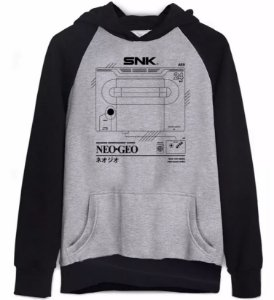 Moletom Neo Geo Snk
