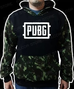 Moletom Battlegrounds Pubg Camuflada
