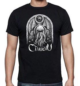 Camiseta H. P. Lovecraft - Cthulhu
