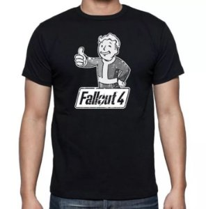 Camiseta Fallout 4 - Pipboy