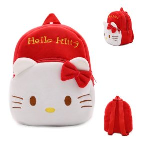 Mochila infantil de Pelúcia Hello Kitty