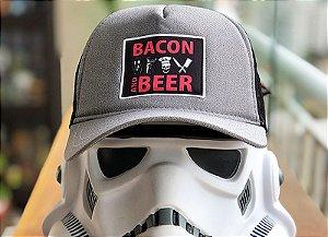 Boné Trucker | Bacon And Beer