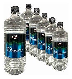Kit com 6 Águas - Bi-desmineralizada - Baterias E Radiadores - Orbi Química