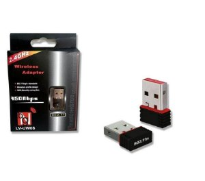 Adaptador USB Rede Antena Grande