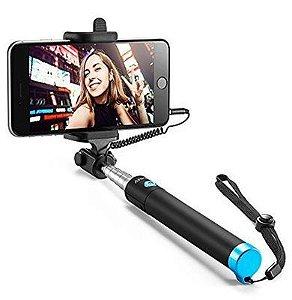 Bastão pau de selfie com botão bluetooth