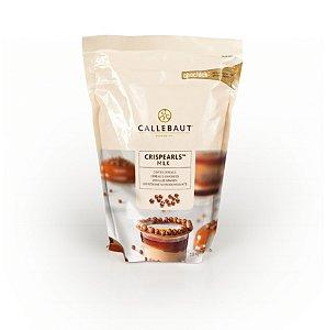 Crispearls ao Leite de Chocolate Belga - Cereal Crocante 800g CALLEBAUT