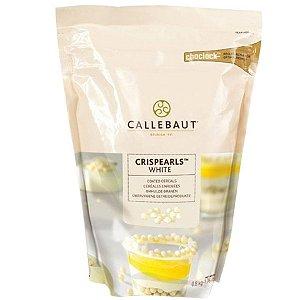Crispearls branco de Chocolate Belga - Cereal Crocante 800g CALLEBAUT