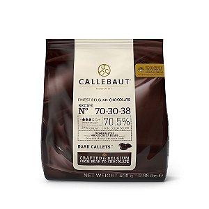 Chocolate Belga Callets/Moedas Amargo 70-30-38 (70,5% cacau) - Gotas 400g